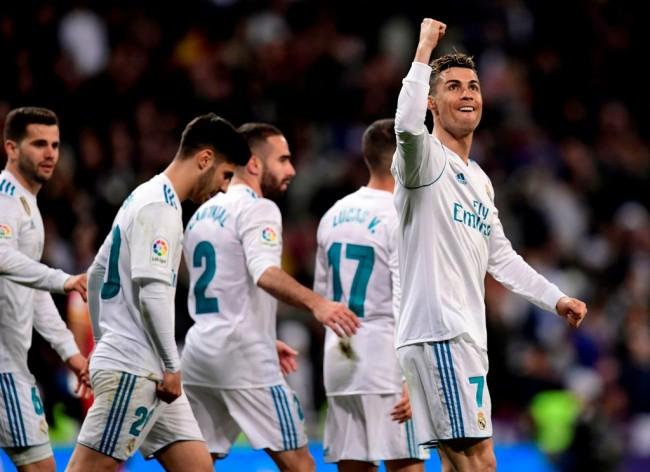 LAMPUNG POST | Ronaldo Cetak Quatrick, Madrid Bantai Girona