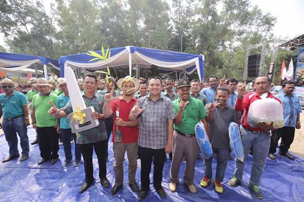 LAMPUNG POST | Gubernur Lampung Canangkan Germas Hidup Sehat di Lampung Timur