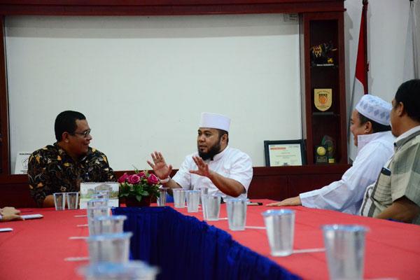 Wali Kota Bengkulu Silaturahmi ke Lampung Post