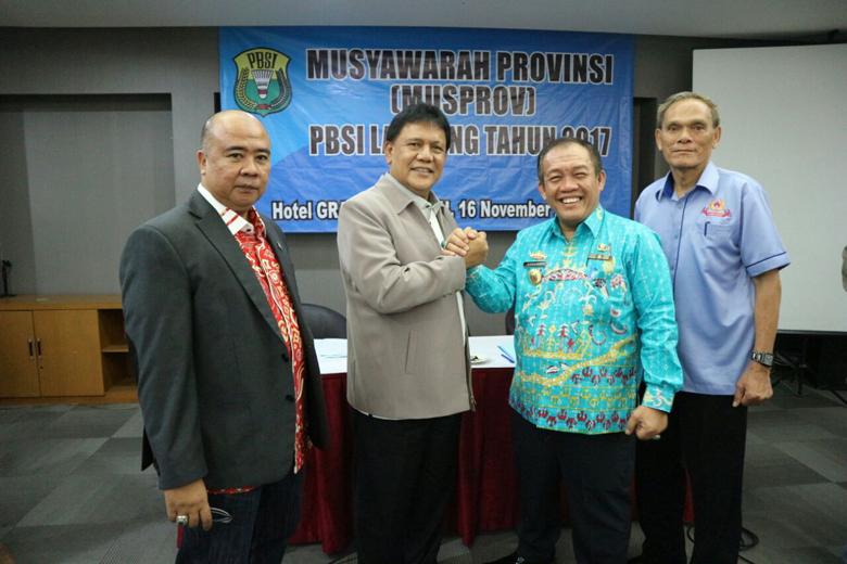 LAMPUNG POST   PBSI Lampung Gelar Musprov 2017