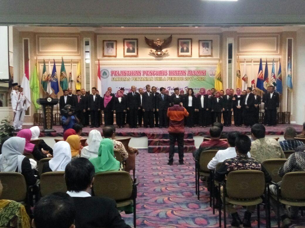 Alumni Faperta Unila Diminta Berkontribusi dalam Pembangunan di Lampung