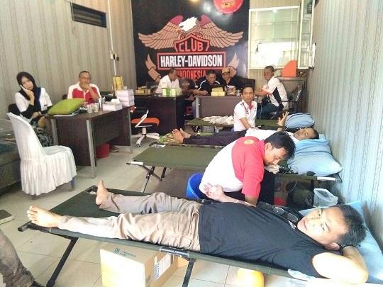 LAMPUNG POST | HDCI Lampung Peringati HUT ke-27 dengan Donor Darah
