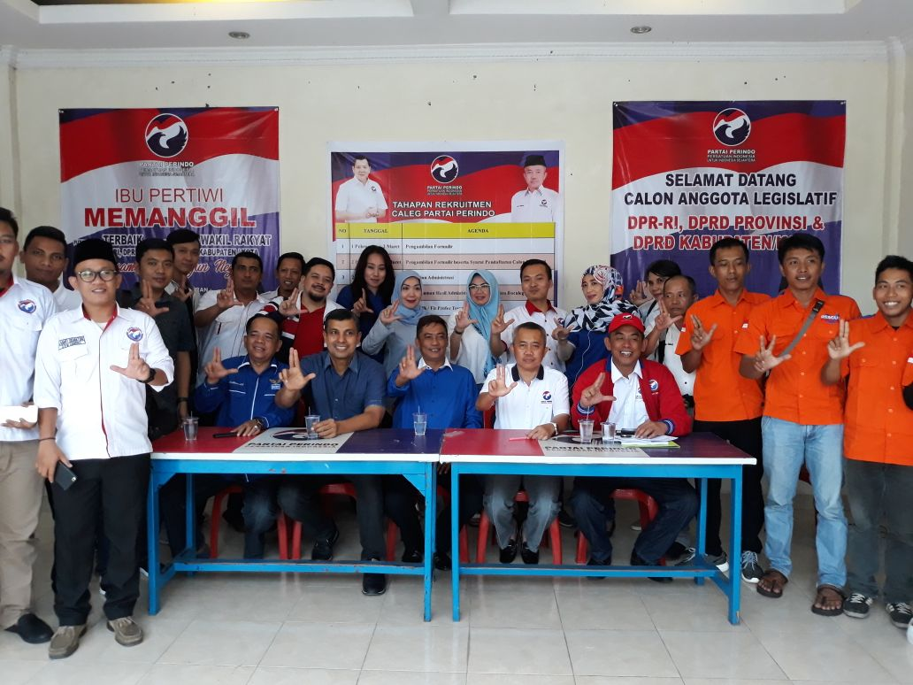 300 Ribu Kader Partai Perindo Dukungan Pemenangan Ridho-Bachtiar