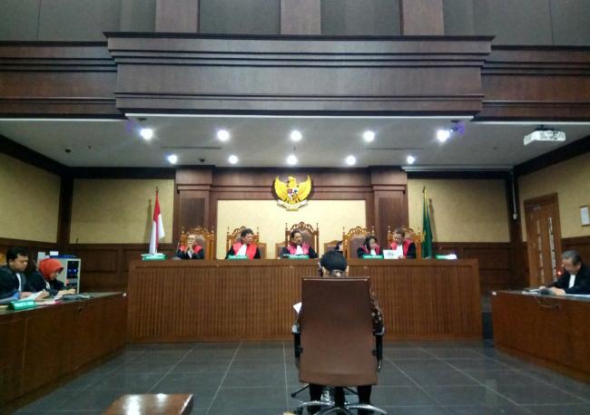 Sidang Lanjutan Kasus KTP-El, Kubu Setya Novanto Bacakan Eksepsi