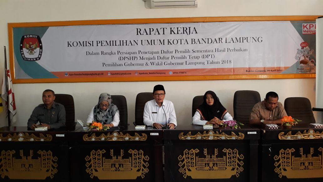 12 Ribuan Penduduk Bandar LampungDihapus dari DPT