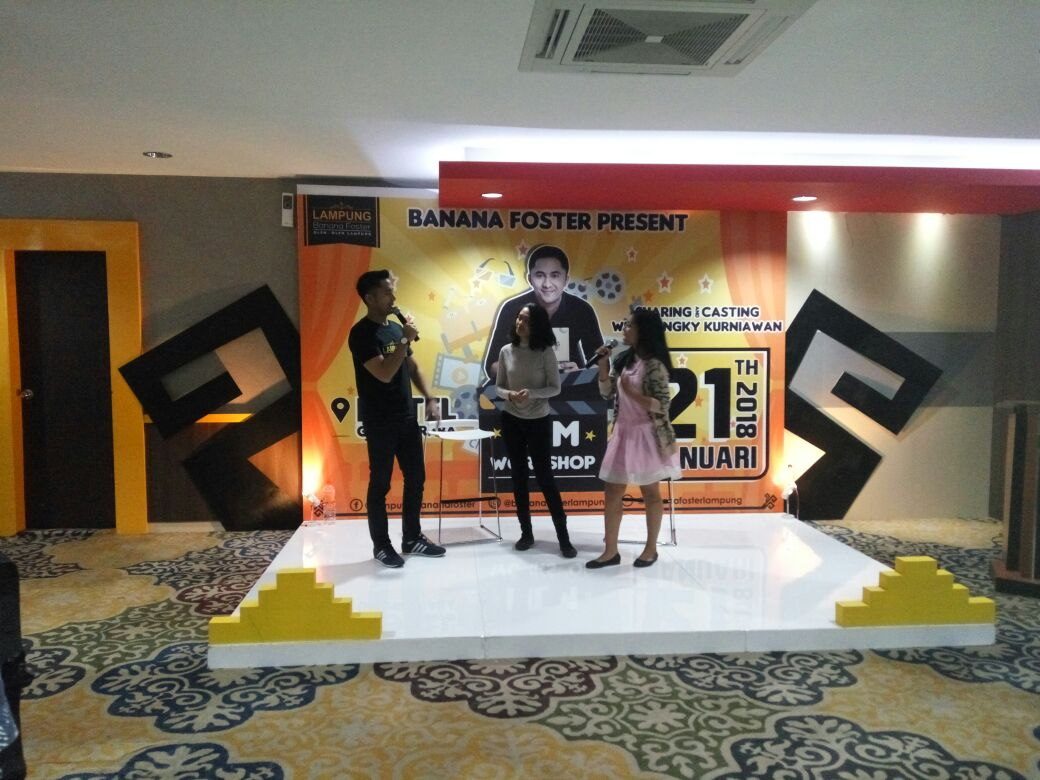 LAMPUNG POST | Hengky Kurniawan Berbagi Seputar Casting Film