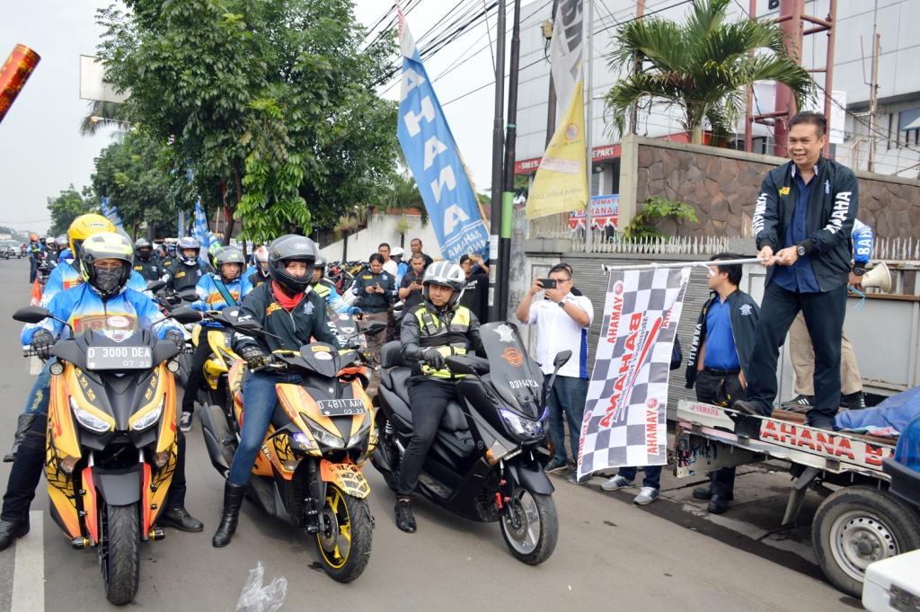 LAMPUNG POST | Ratusan Bikers Ramaikan City Touring Pirelli dan Bahana