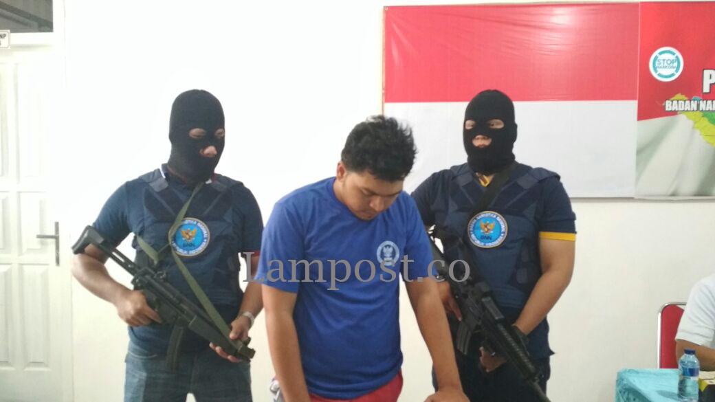 Satu dari Dua Terduga Bandar Narkoba Ditembak Mati BNNP Lampung
