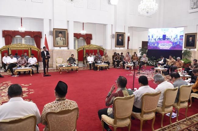 Jusuf Kalla Kumpulkan Empat Menko Kabinet Kerja