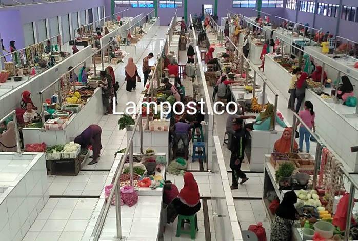 LAMPUNG POST | LAMPOST TB: Pasar Rakyat Dayamurni Resmi Dibuka
