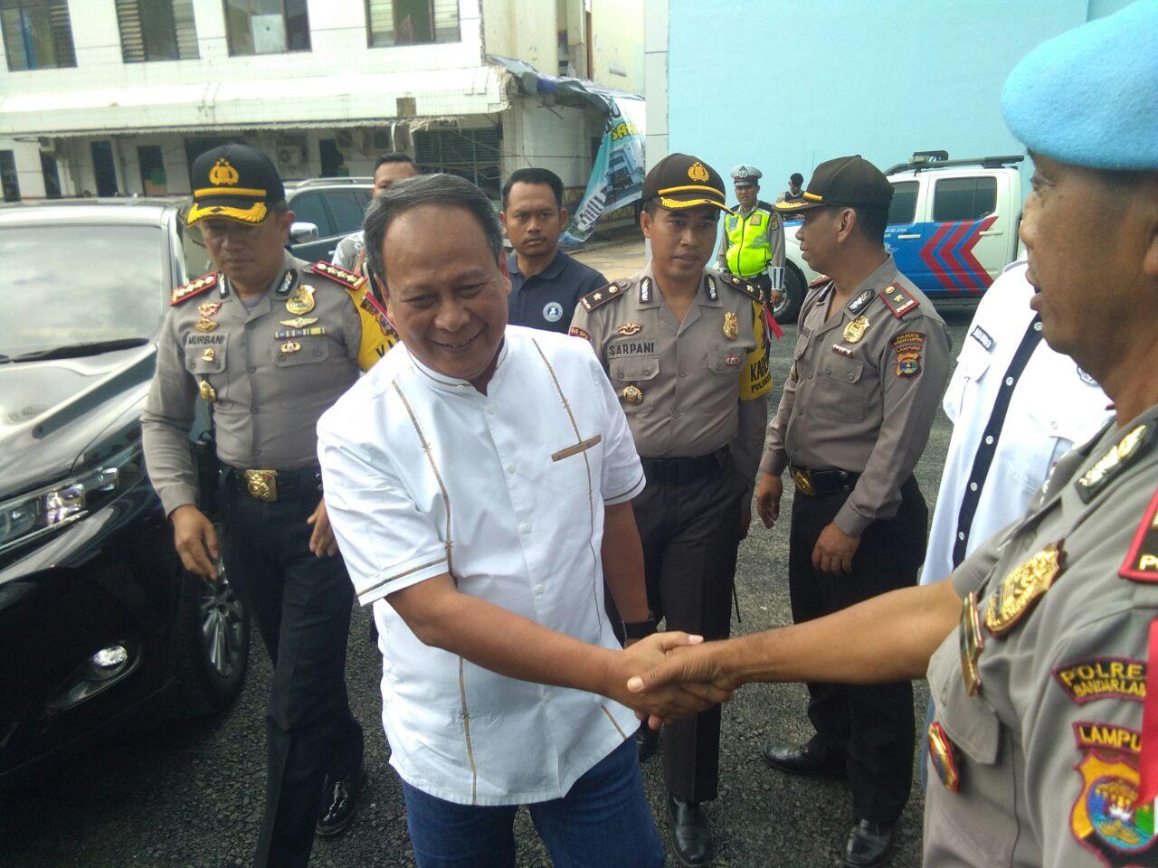 Kapolda Lampung Tinjau Pelaksanaan Psikotes Calon Kada di RSUDAM