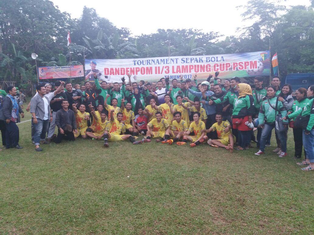 Gojek Lampung FC Ikuti Dandenpom II/3 Lampung Cup PSPM