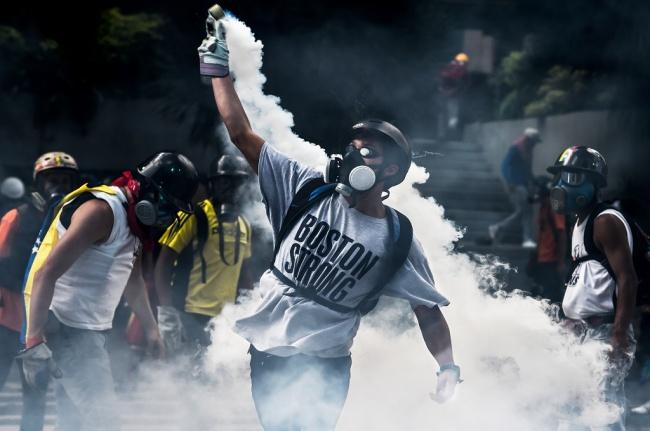 LAMPUNG POST   Korban Tewas dalam Gelombang Demonstrasi di Venezuela Mencapai 50