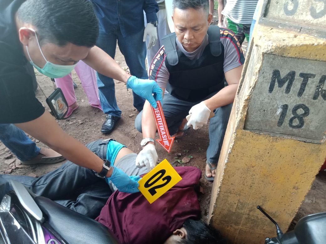 Warga Tasikmalaya Ditemukan Tewas di Tegineneng