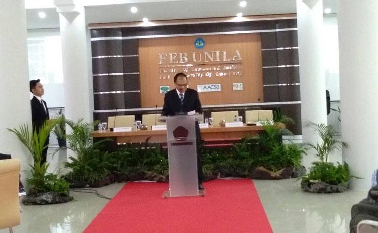 LAMPUNG POST | Wakil Ketua KPK Isi Seminar Pengelolaan Dana Desa di Unila
