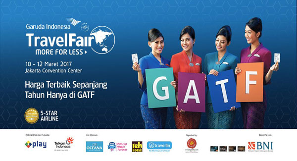 LAMPUNG POST | Garuda Indonesia Gandeng Mandiri Gelar GATF Phase II