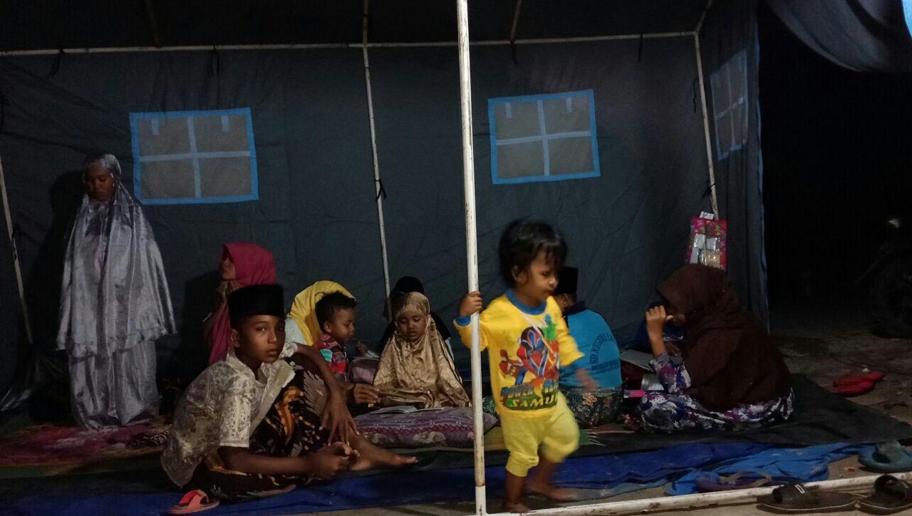LAMPUNG POST   Cadangan Pangan di Kampung Cabang Mulai Menipis