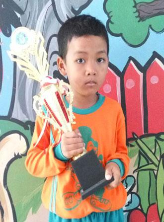 LAMPUNG POST | Muhammad Azzam Faiza  Penghafal Surah Pendek
