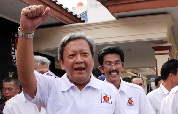 LAMPUNG POST | Gerindra Usung Cagub yang Komitmen Menangkan Prabowo