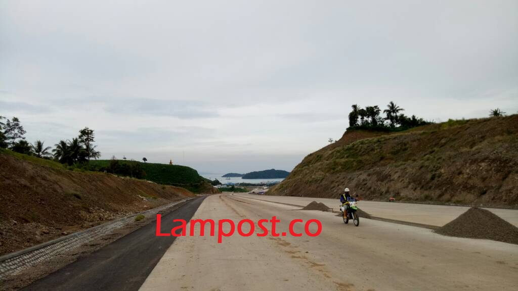 LAMPUNG POST | 587 Bidang Lahan untuk  JTTS di Lamsel Telah Selesai Diganti Rugi