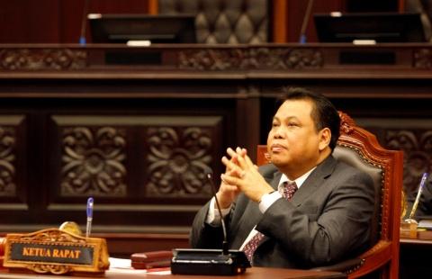 LAMPUNG POST   Arief Hidayat Ucap Sumpah Ketua MK