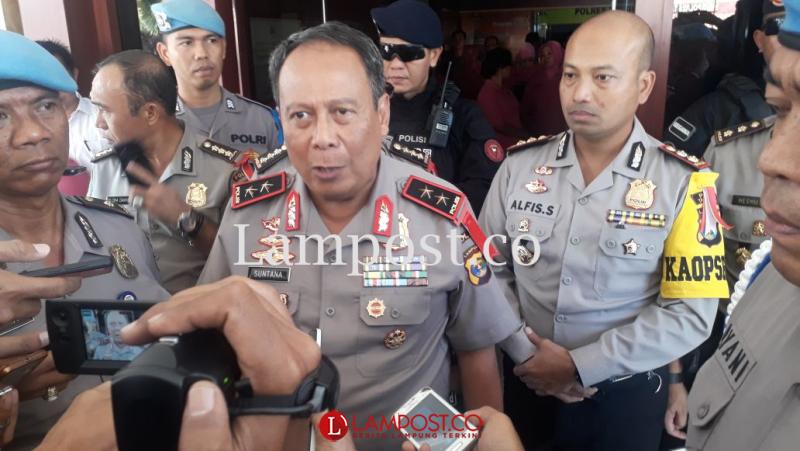 7 Bulan Pegang Komando, Kapolda Lampung Diganti Lagi