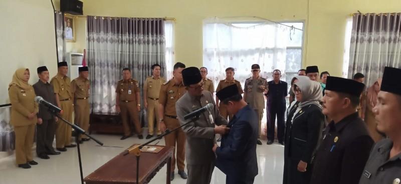 7 Pejabat Tinggi Pratama Pesisir Barat Dilantik