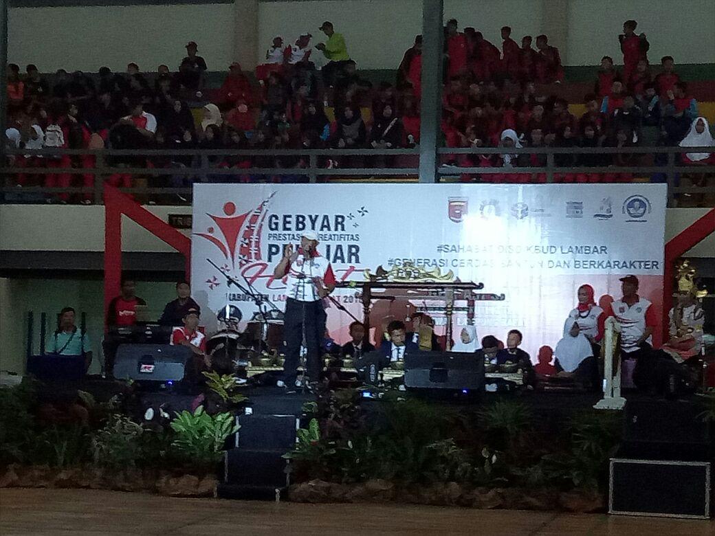 Pemkab Lampung Barat Gelar Gebyar Prestasi dan Kreativitas Pelajar
