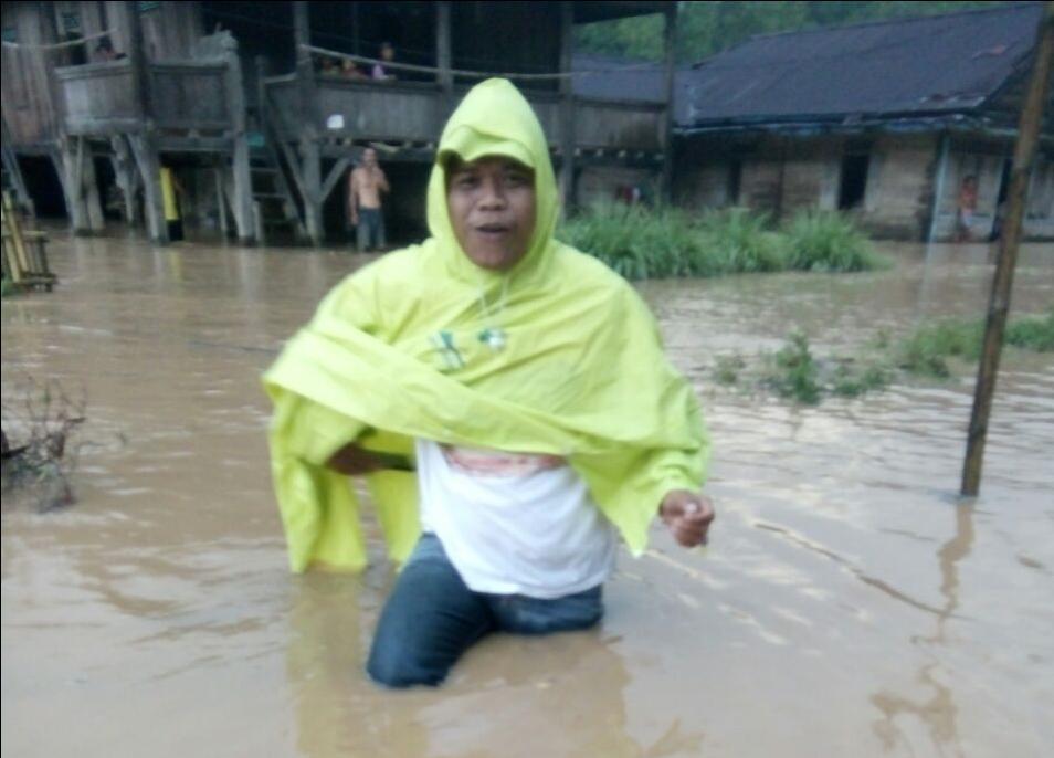 Diguyur Hujan, Pekon Hantatai Terendam Banjir