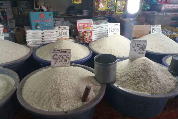 LAMPUNG POST | Harga Beras di Lampung Utara Naik Rp2.000/Kg