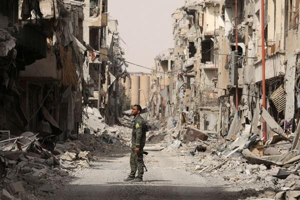 LAMPUNG POST   3.000 Orang Tewas dalam Perang Suriah Selama September
