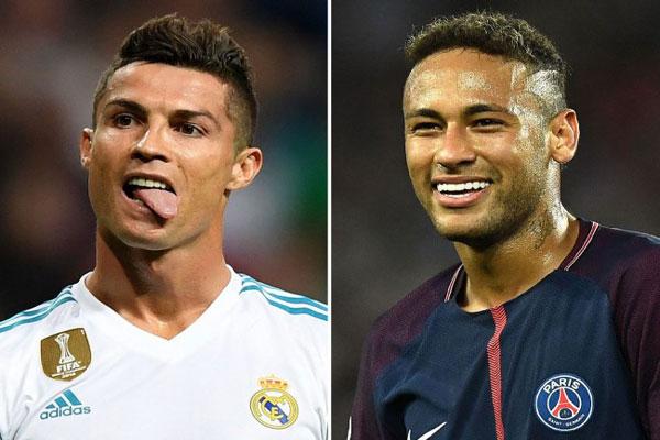 Cristiano Ronaldo dan Neymar dalam Angka