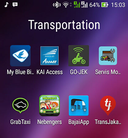 LAMPUNG POST | Legalisasi Transportasi Daring, Angkutan Konvensional Usul Penyetaraan Tarif