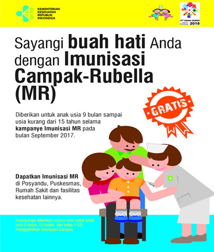 LAMPUNG POST | Lindungi Anak dengan Imunisasi Campak-Rubela