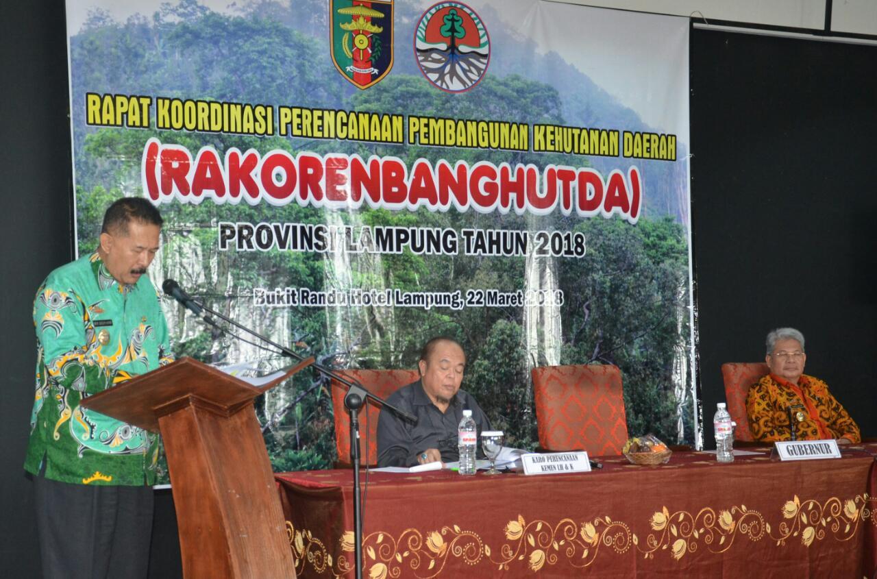LAMPUNG POST | Rakorenbanghut, Momentum Sinergitas Pembangunan Kehutanan