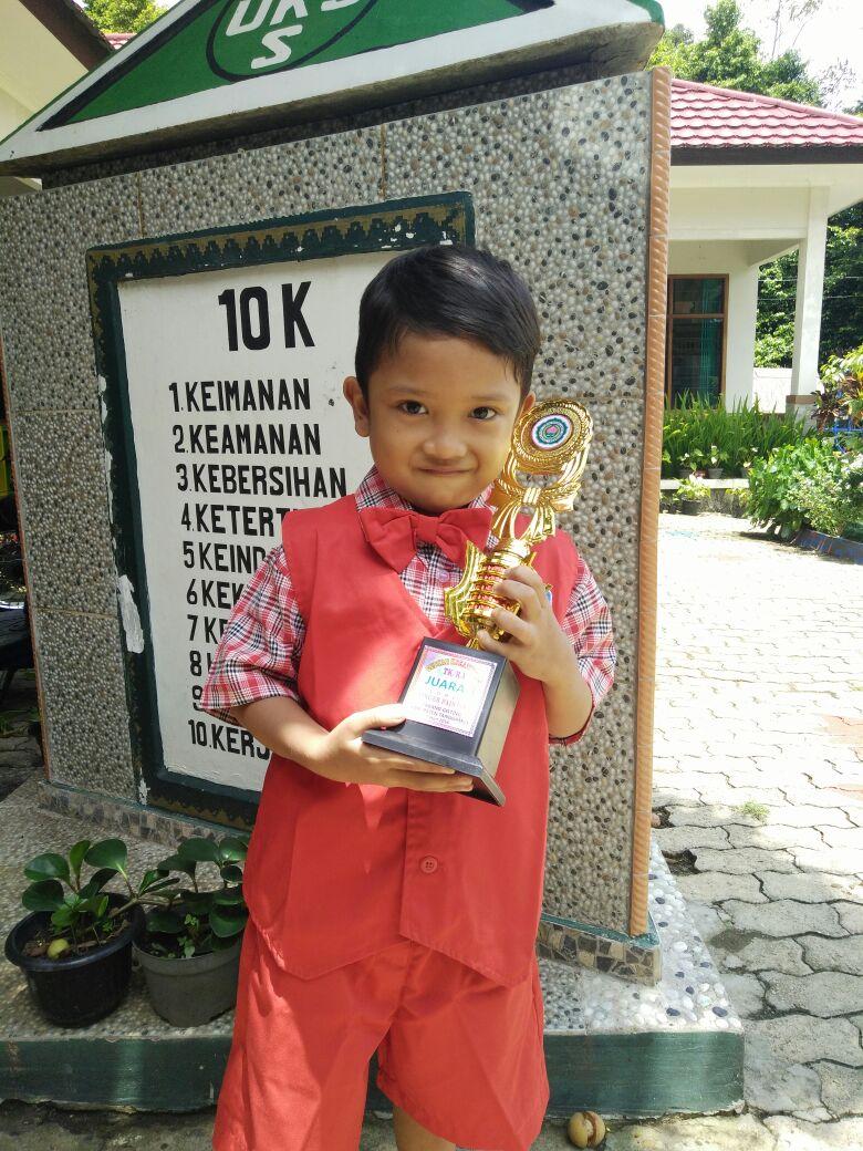 LAMPUNG POST | Obey Gaharu Kerum Sinaga  Anak yang Aktif