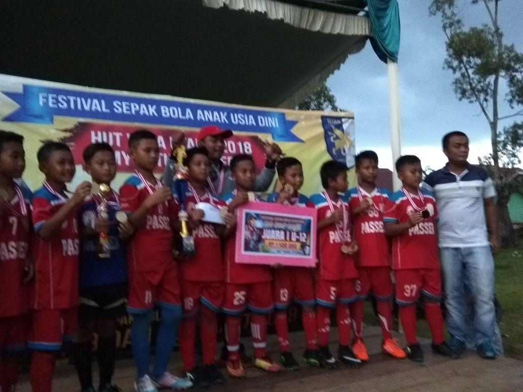 SSB Passer Metro Juara U-12 Piala Rahmad Darmawan