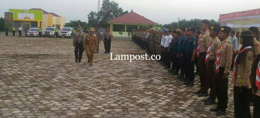 LAMPUNG POST | Khamami Pimpin Apel Gelar Pasukan Ramadniya Krakatau 2017