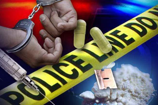 LAMPUNG POST | Empat Pengguna Narkoba Digelandang ke Mapolres Way Kanan