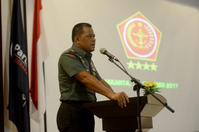 Jenderal Gatot Bantah Mutasi 85 Perwira sebagai Manuver Pribadi