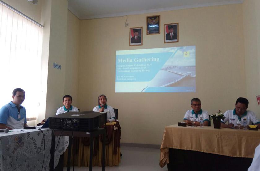 LAMPUNG POST | PLN Lampung Gelar Media Gathering