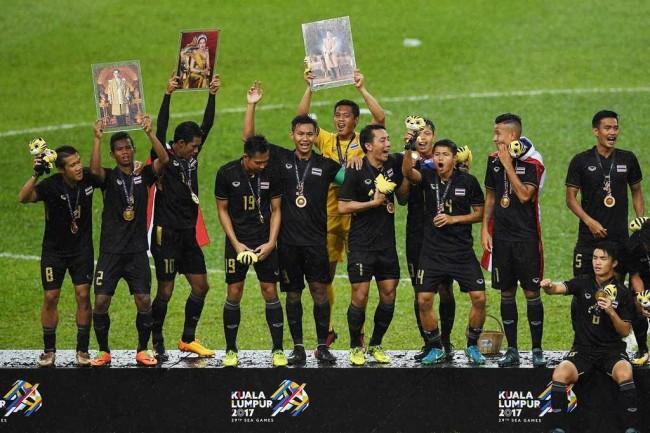 LAMPUNG POST | Thailand Rajai Sepak Bola Asia Tenggara