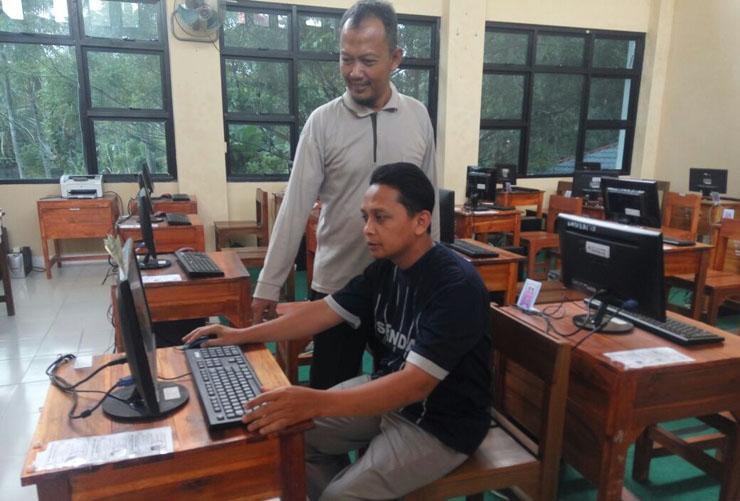 LAMPUNG POST | SMPN 2 Bandar Lampung Siap Adakan UNBK 2018