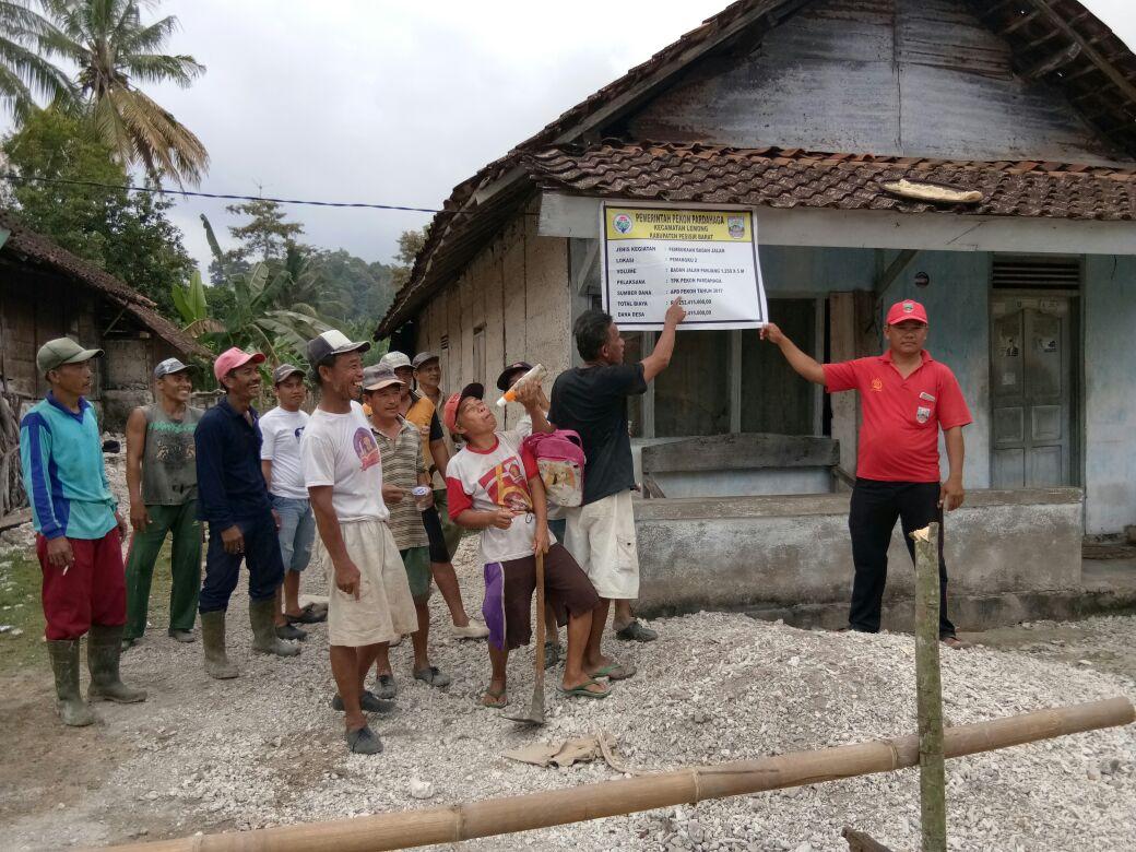 LAMPUNG POST | Pekon Pardahaga Gencar Membangun Desa