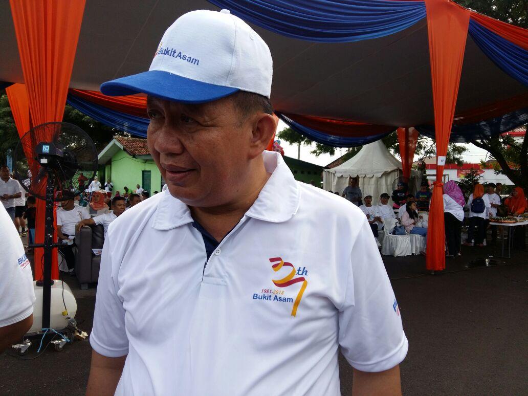 Yusuf Kohar: Jalan Sehat PT Bukit Asam Bantu Pemkot Mengolahragakan Masyarakat