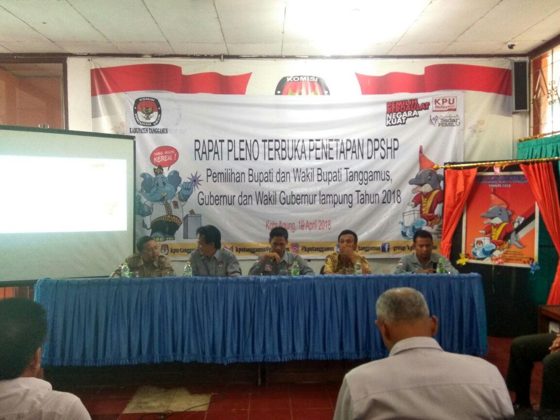 DPT Tanggamus Tercatat 440.522 Jiwa