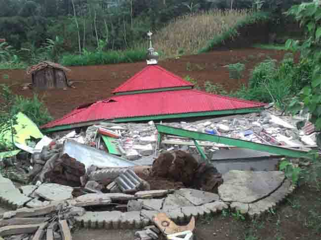 LAMPUNG POST | Banjarnegara Gempa, 2.104 Warga Mengungsi