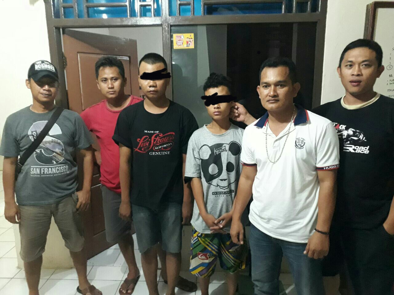 LAMPUNG POST | Dua Pelaku Pencuri Handphone Karyawan PNM Ditangkap