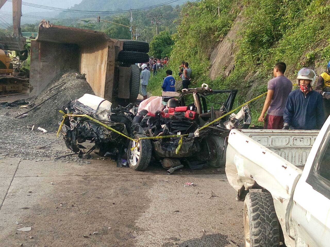LAMPUNG POST | LAMPOST TV: Kecelakaan Beruntutn di Tarahan Libatkan 8 Kendaraan