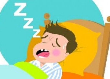 LAMPUNG POST | Risiko Tidur Mendengkur pada Anak